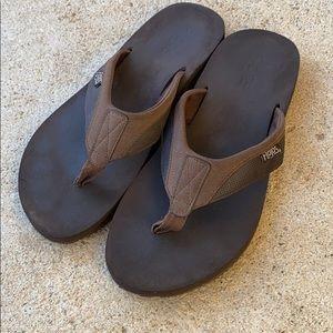 Mens Brown Flojos size 11